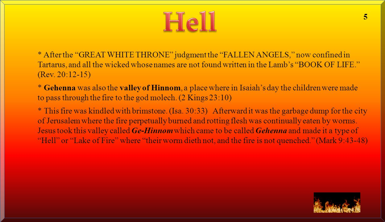 Hell 5.
