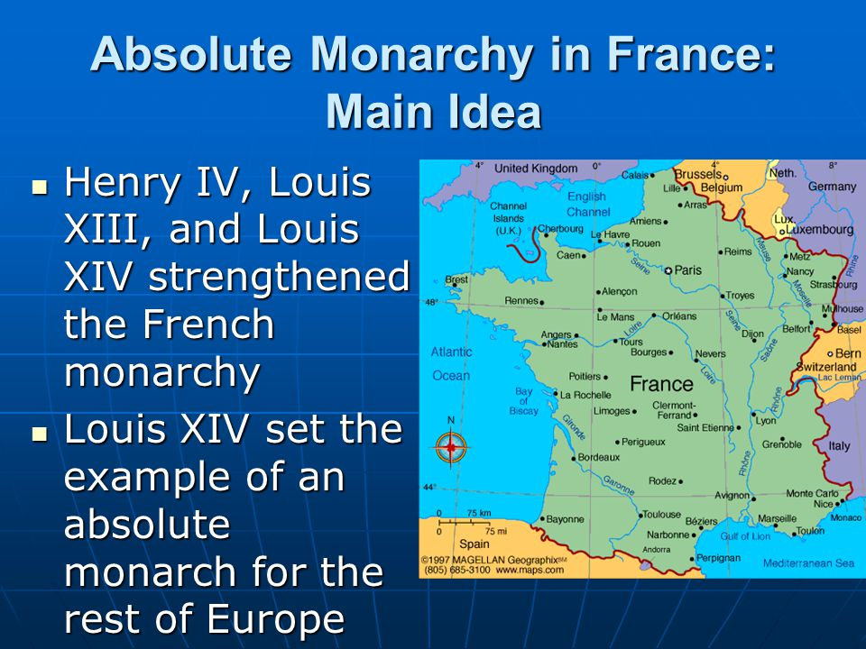 Absolute Monarchy in France: Main Idea