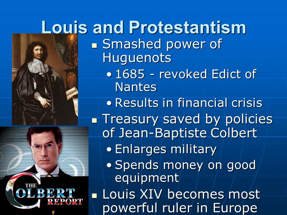 Louis and Protestantism