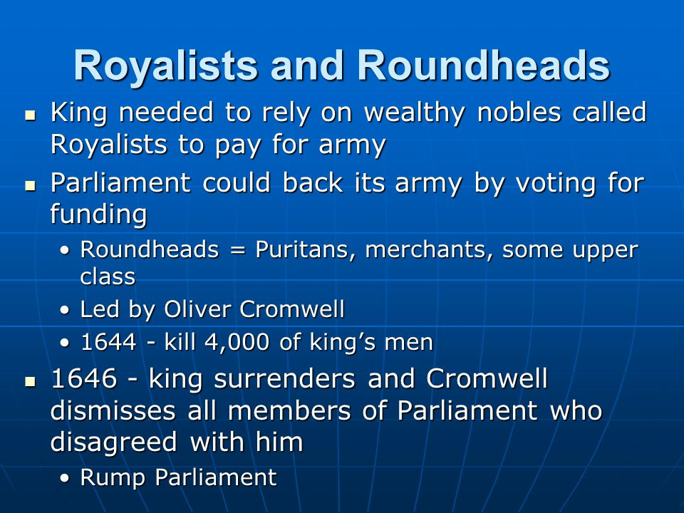 Royalists and Roundheads