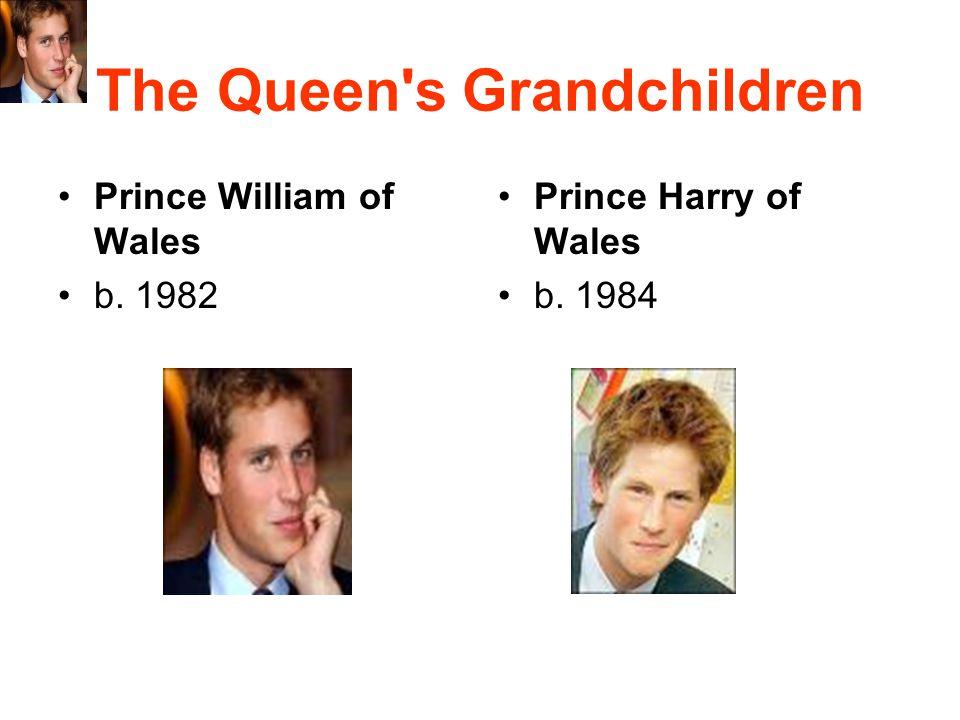 The Queen s Grandchildren