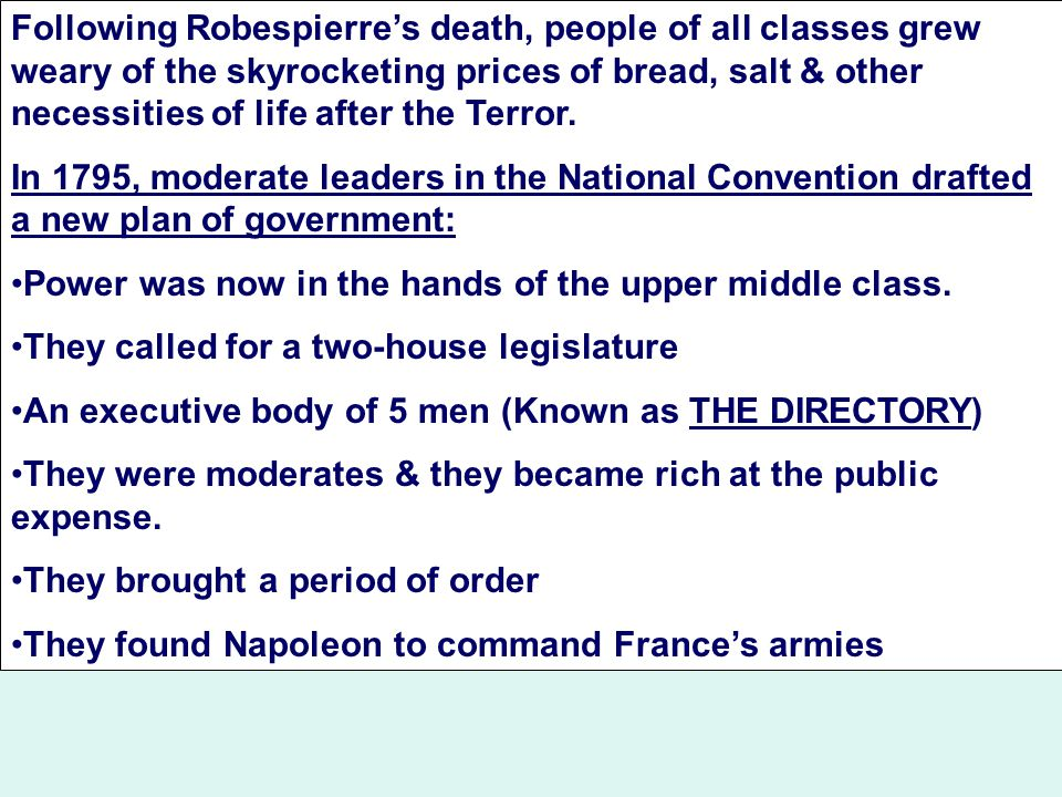 robespierres era of social dictatorship in france Many americans, including some vegetarians, still consume substantial amounts of dairy products-and government policies still promote them-despite scientific evidence.