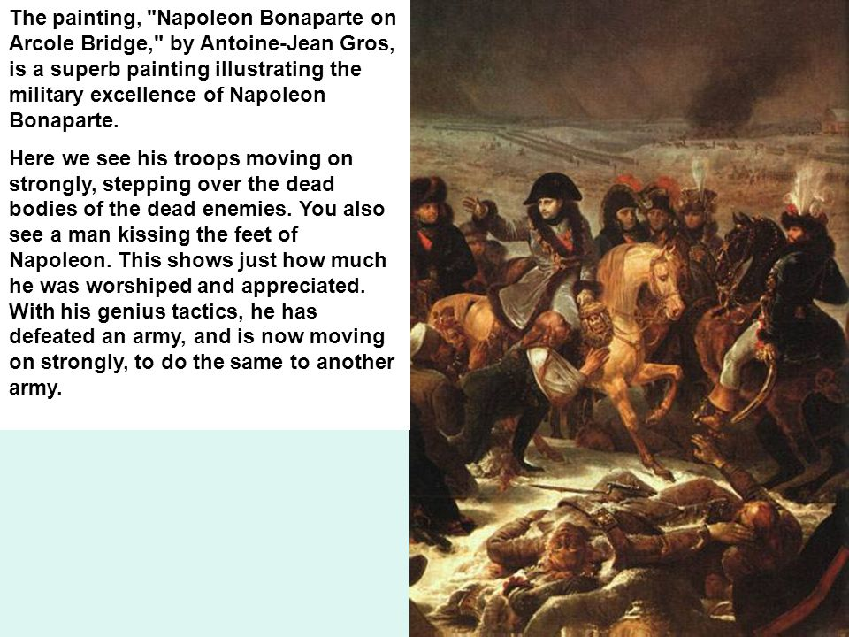 the military brilliance of napoleon bonaparte Napoleon bonaparte essay examples from the french revolution to napoleon's reign and the congress of the military brilliance of napoleon bonaparte 1,081 words.