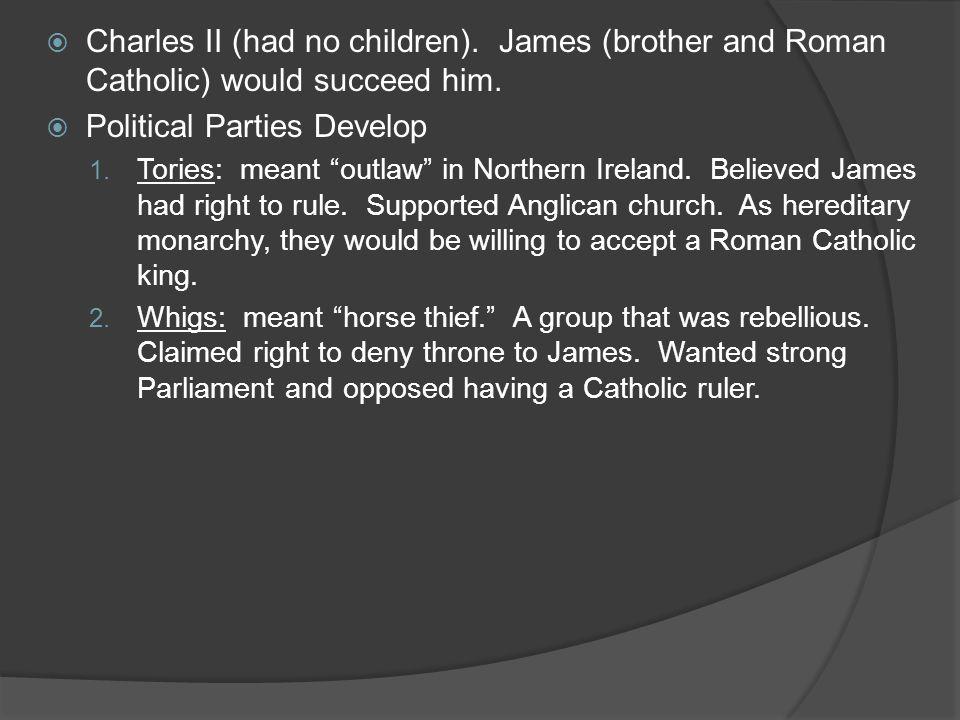 Political Parties Develop