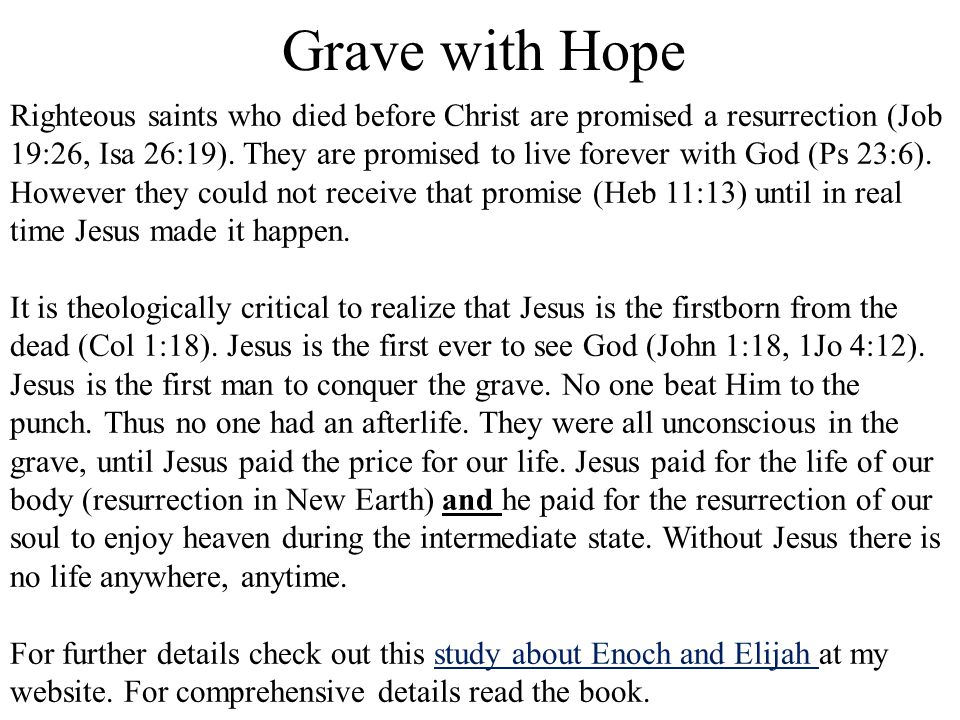 Grave with Hope