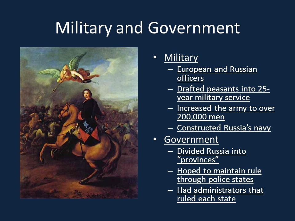 Military and Government