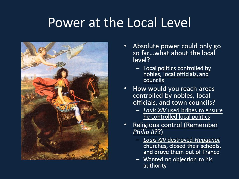 Power at the Local Level