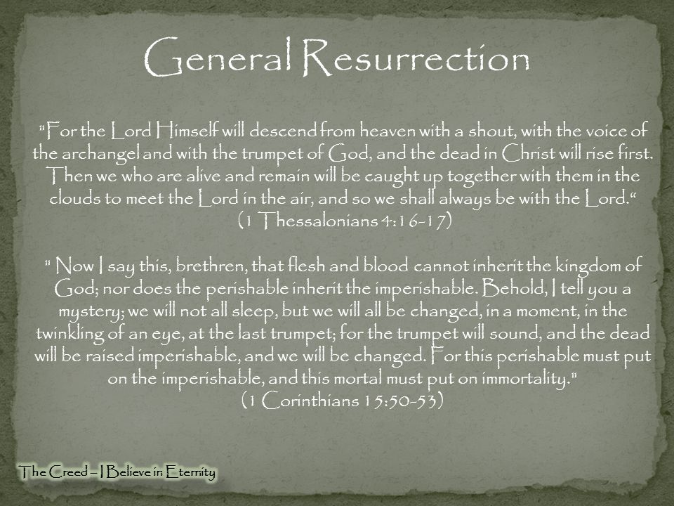 General Resurrection