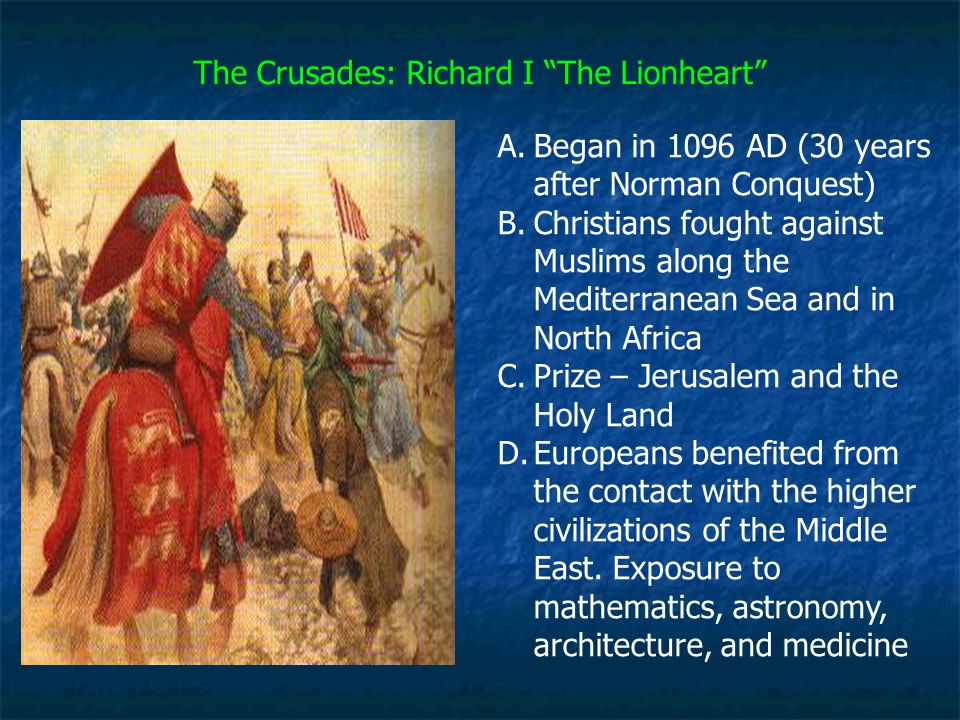 The Crusades: Richard I The Lionheart