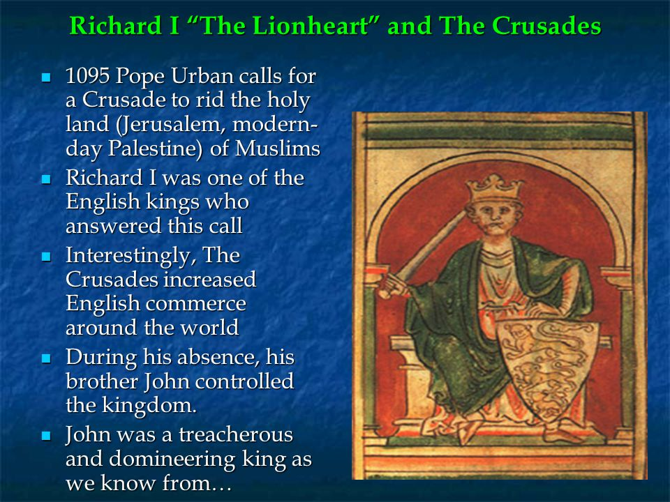 Richard I The Lionheart and The Crusades