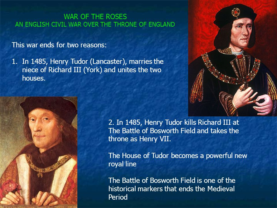 AN ENGLISH CIVIL WAR OVER THE THRONE OF ENGLAND