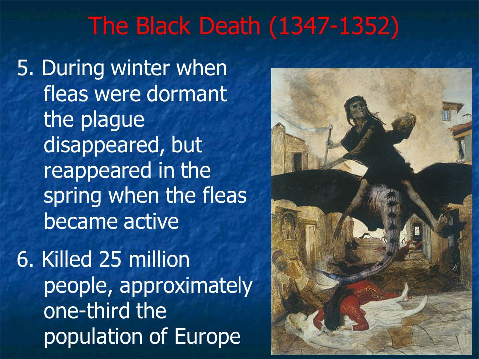 The Black Death (1347-1352)