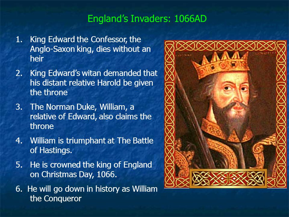 England's Invaders: 1066AD