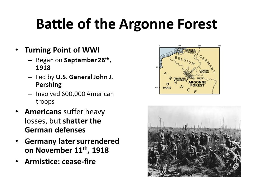 Battle of the Argonne Forest