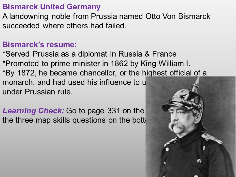 Bismarck United Germany