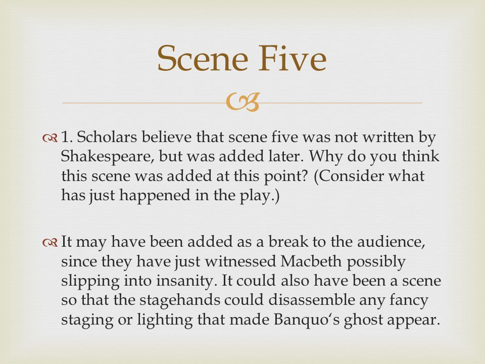 Scene Five