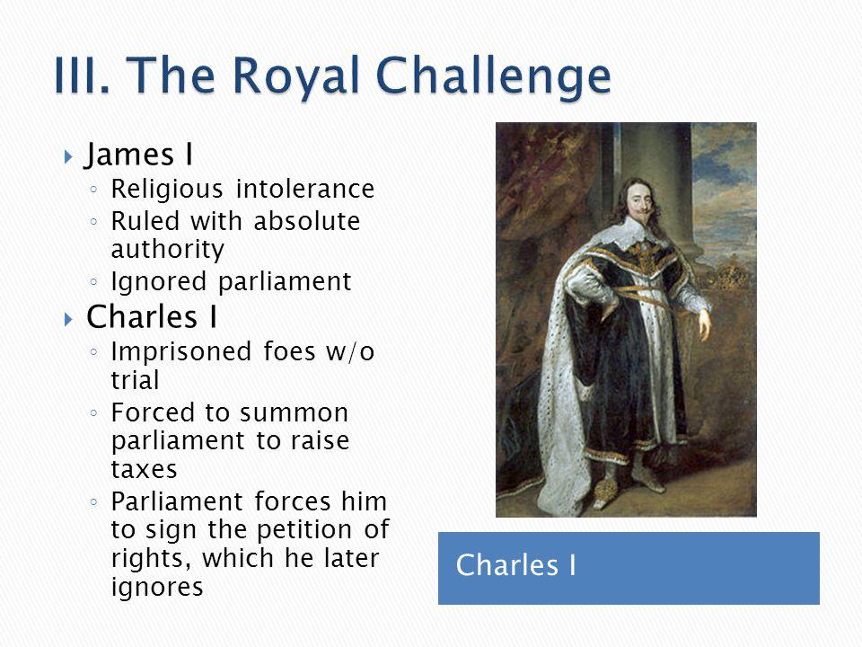 III. The Royal Challenge