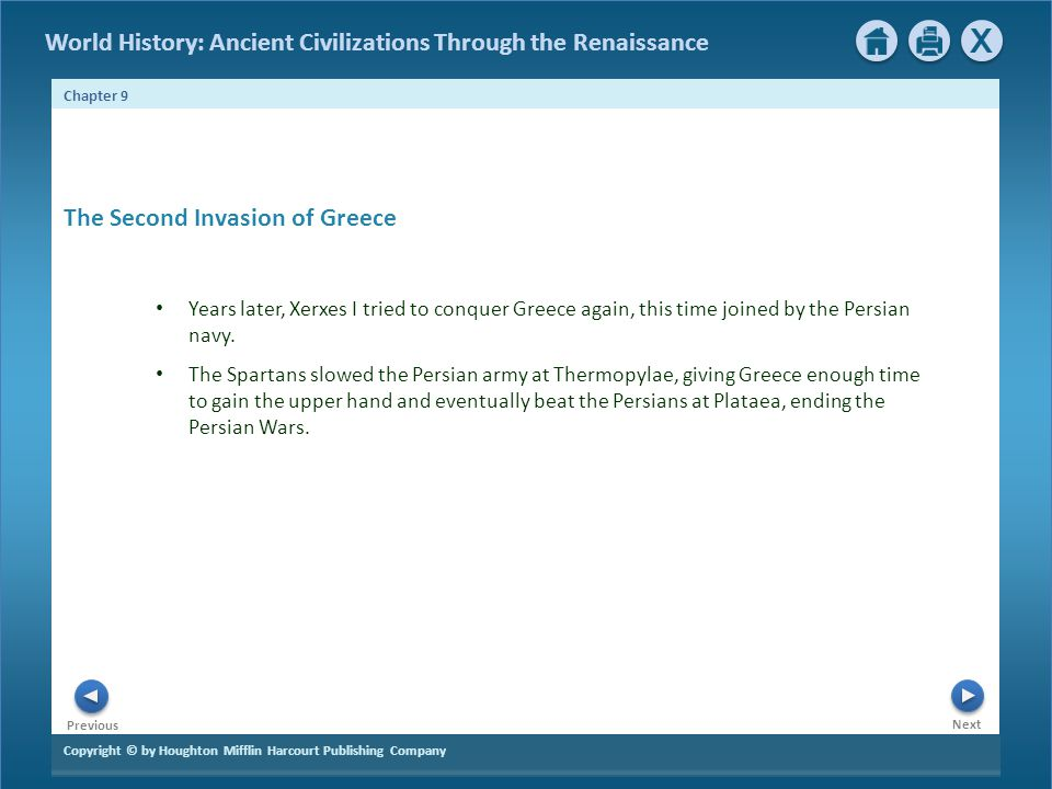 The Second Invasion of Greece