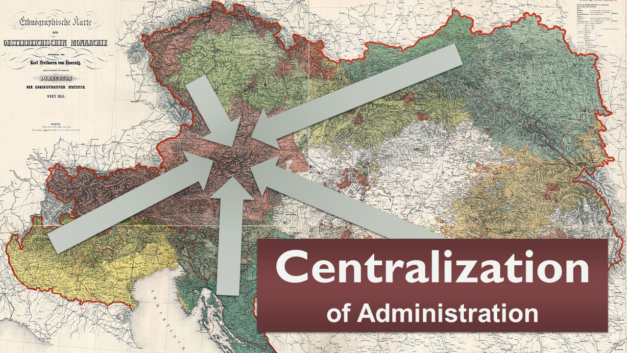 Centralization of Administration