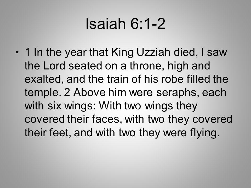 Isaiah 6:1-2