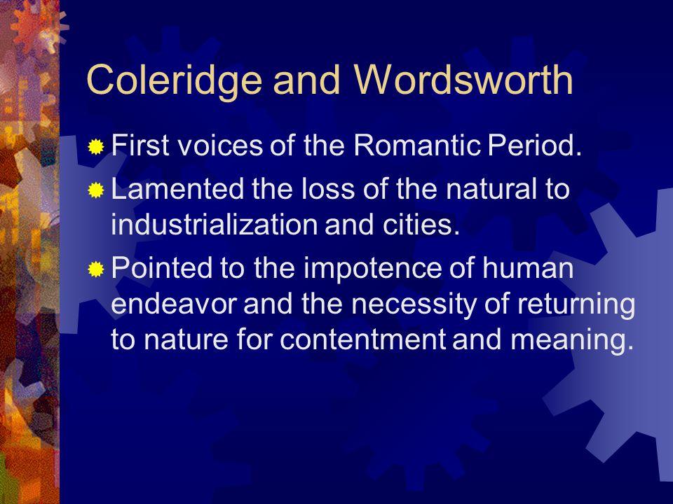 Coleridge and Wordsworth