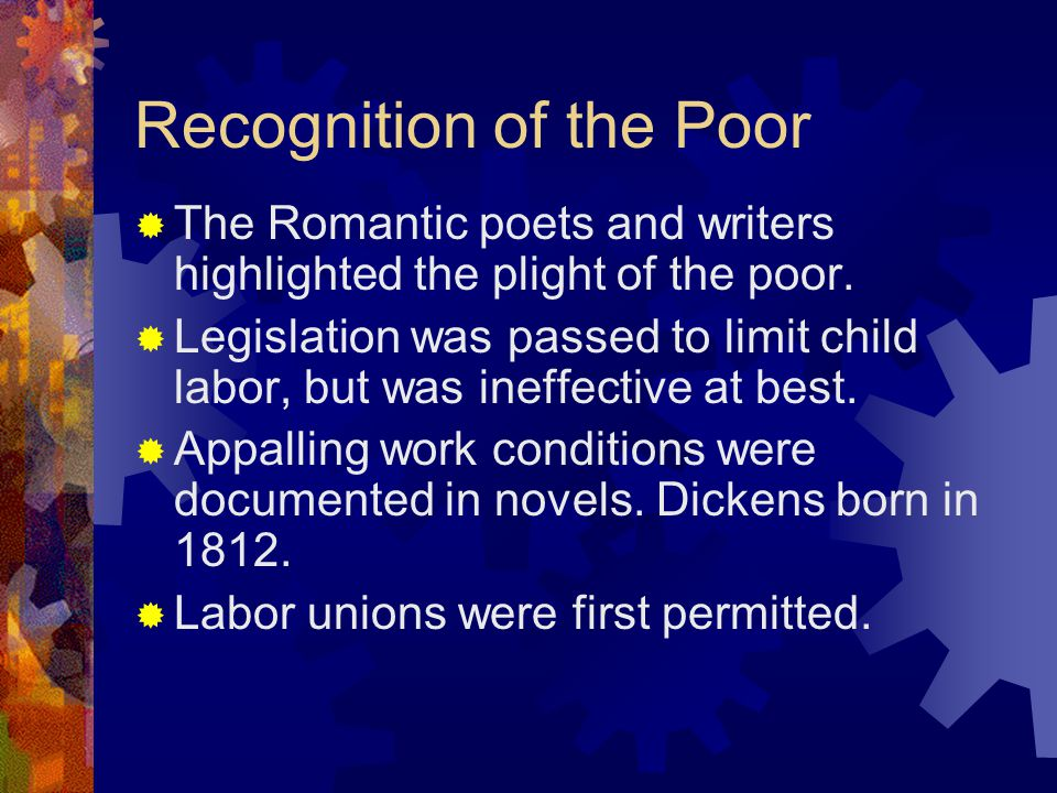 Recognition of the Poor