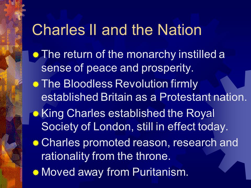 Charles II and the Nation
