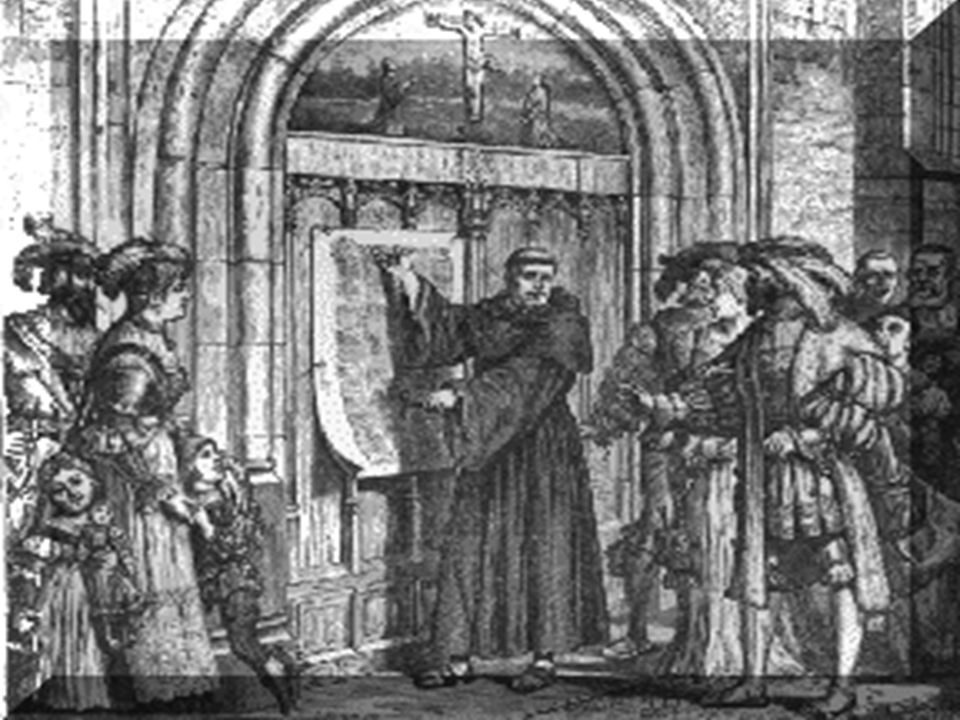Ninety Five Theses Written in academic Latin