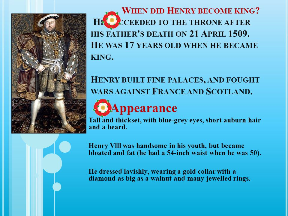 When did Henry become king