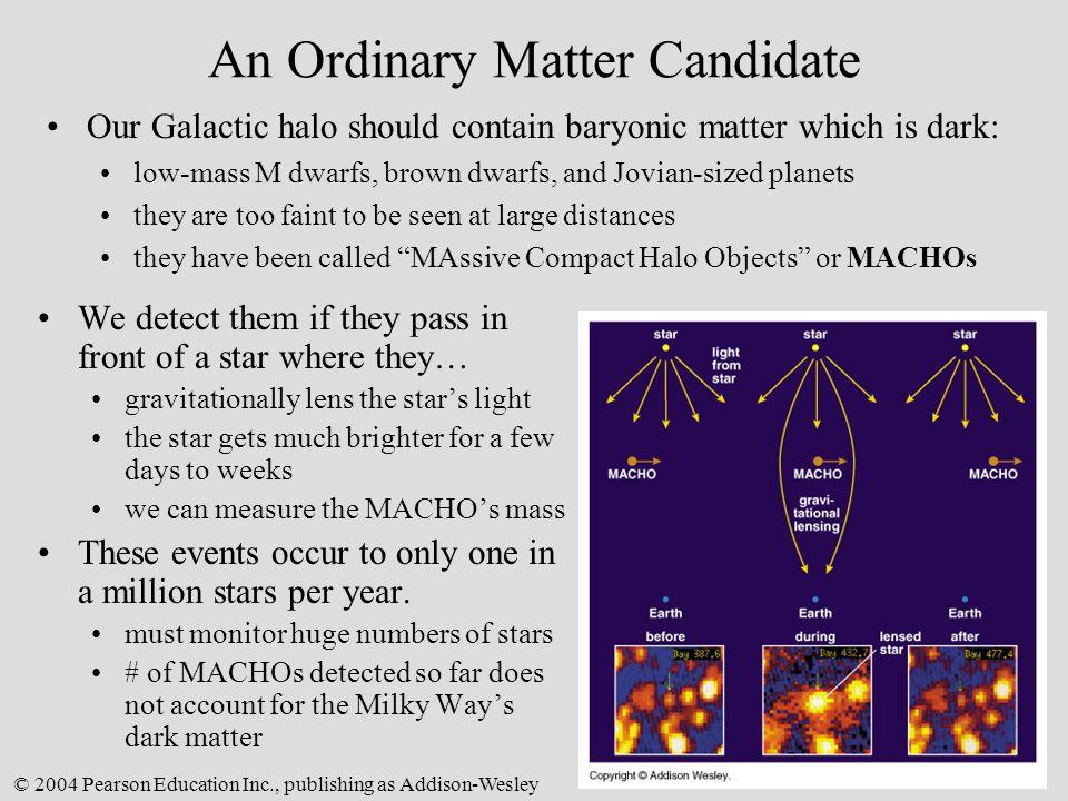 An Ordinary Matter Candidate