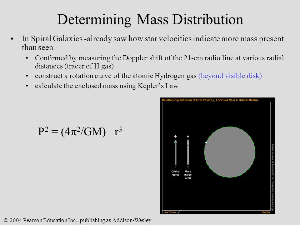 Determining Mass Distribution