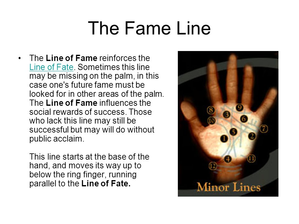The Fame Line