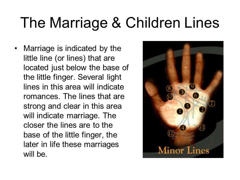 The Marriage & Children Lines