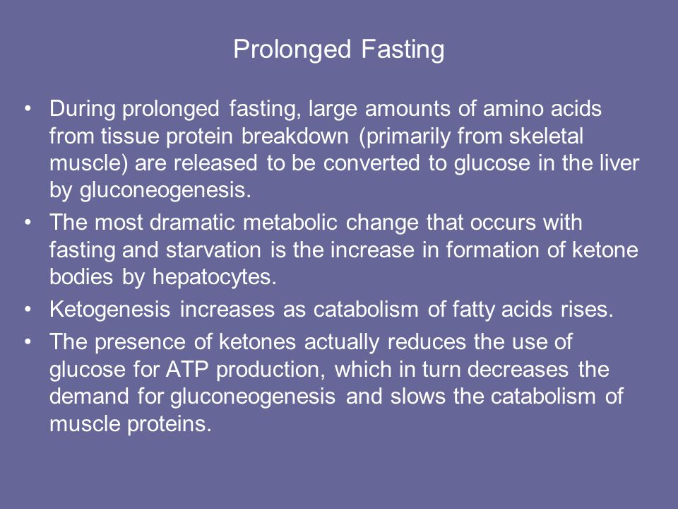 Prolonged Fasting