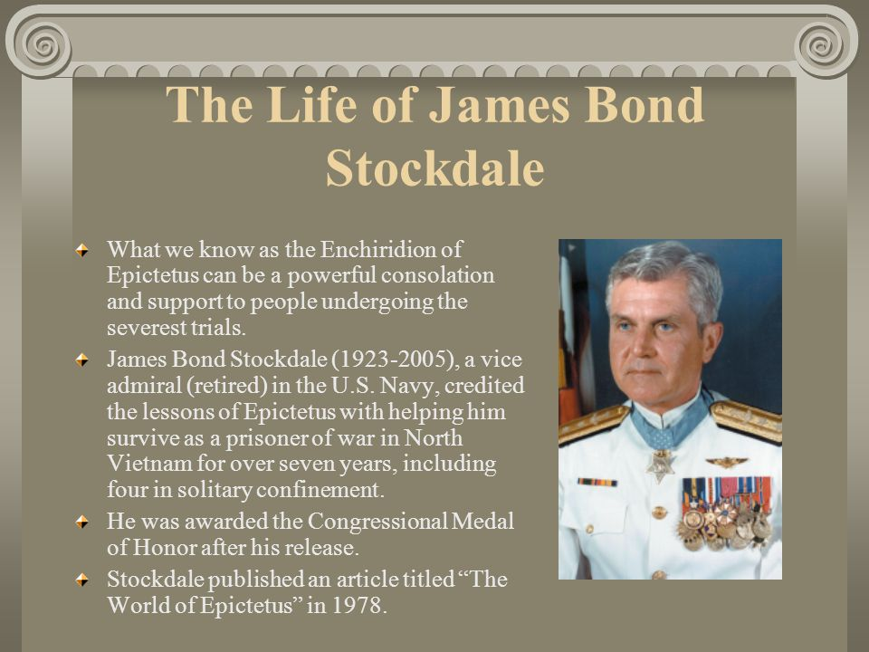 The Life of James Bond Stockdale