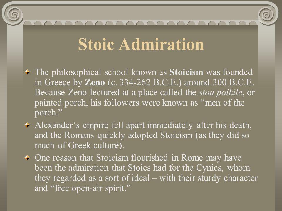 Stoic Admiration