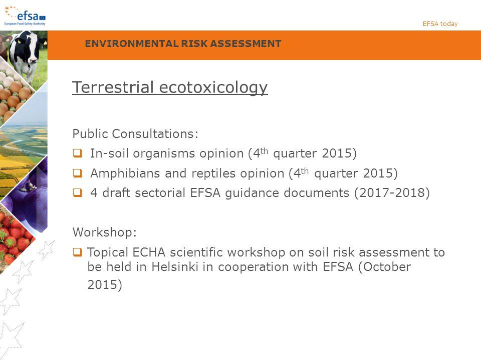 Terrestrial ecotoxicology