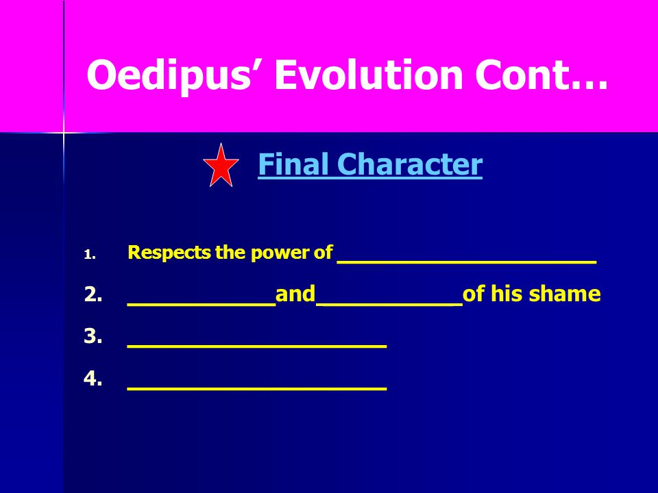 """oedipus inability to change his fate in oedipus rex a play by sophocles The play, oedipus the king, by sophocles, shares very similar ideas of fate   however, in oedipus the king, oedipus believes that he can escape or change  his fate  """"oedipus the king"""" contains a tragic hero, a heroic figure unable to  escape."""