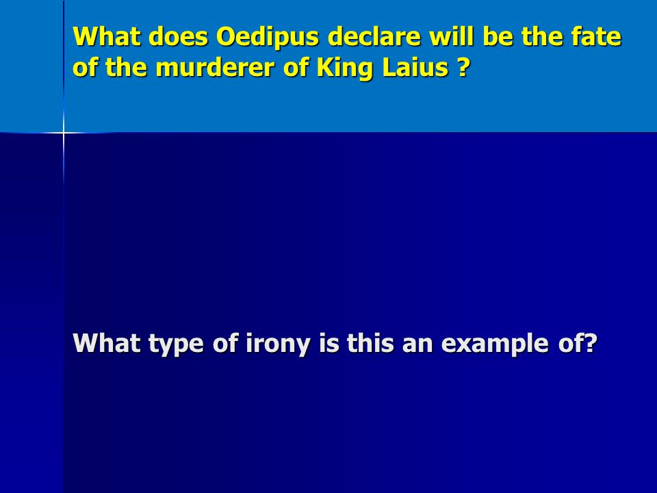 a tragic destiny that led to a downfall in oedipus the king Oedipus rex sophocles' oedipus the king is a tragic play which discusses the tragic discovery of oedipus that he has killed his father and married his mother the story of oedipus was well known to the athenian's.