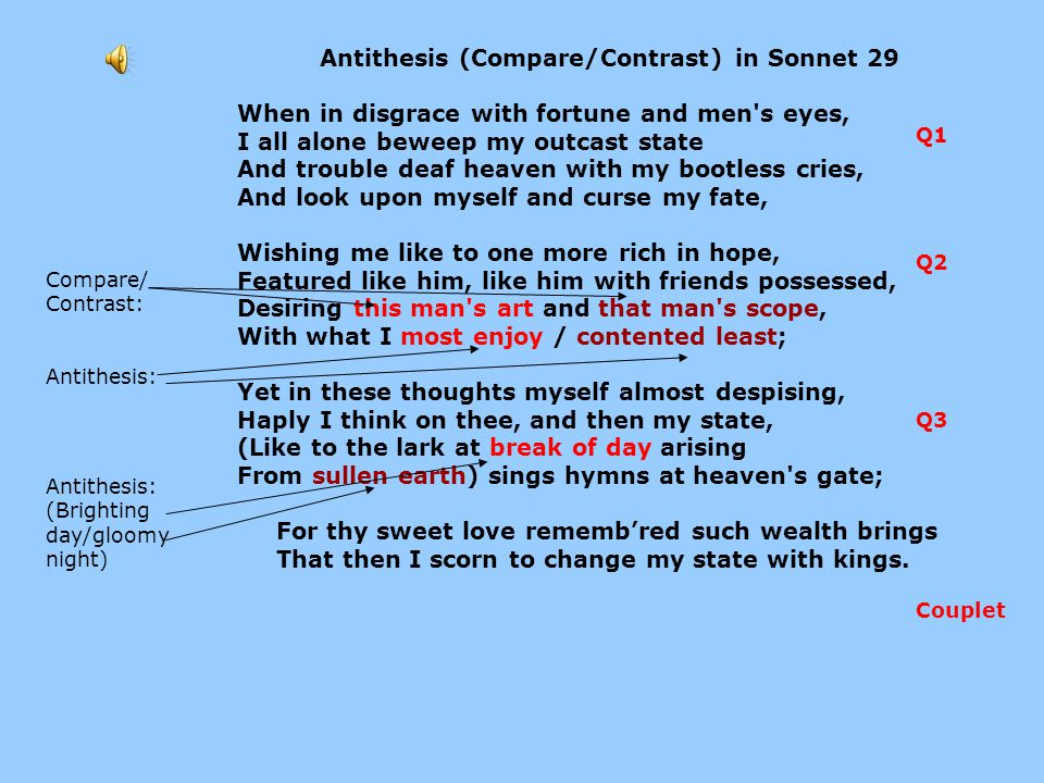 compare contrast of shakespeares sonnets 29 and Sonnet 18 shall i compare thee to a click to get free top 10 shakespeare sonnets poems, shakespeare, shakespeare poems, shakespeare sonnets, sonnets p s.