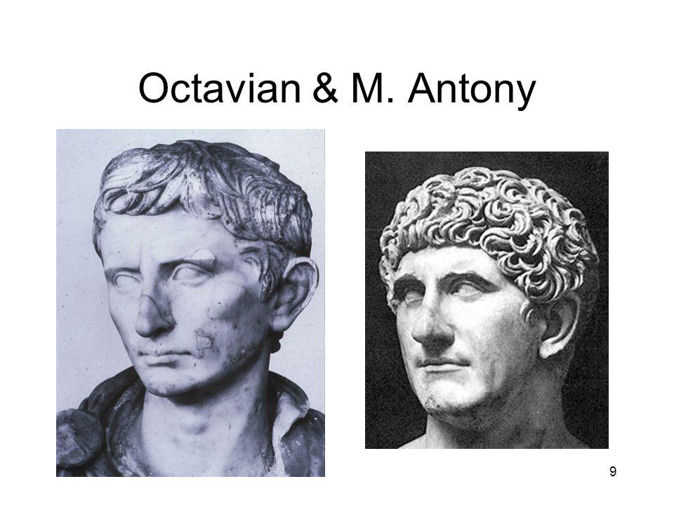 Octavian & M. Antony