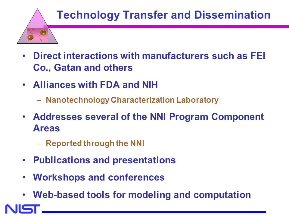 Technology Transfer and Dissemination