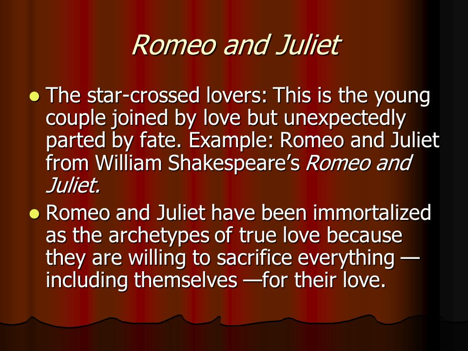 romeo and juliet an aristotelian This list features 9 love stories with tragic endings  leslie howard (romeo) and norma shearer (juliet) in george cukor's romeo and juliet (1936).