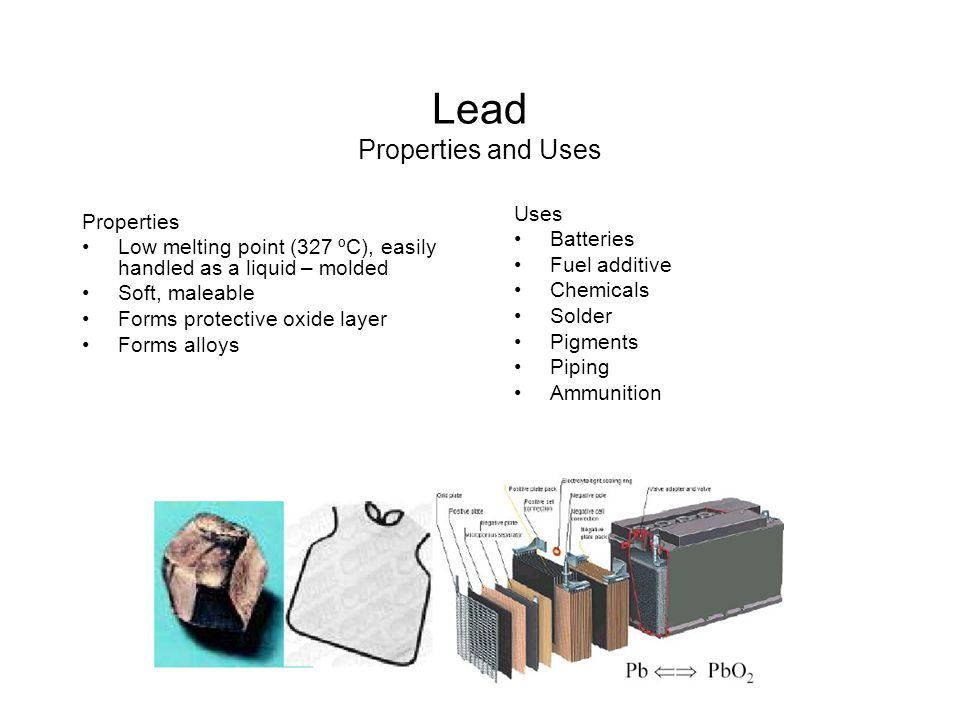 Lead Properties and Uses
