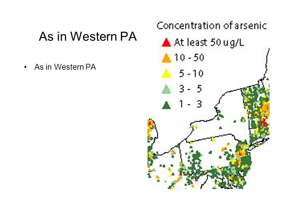 As in Western PA As in Western PA