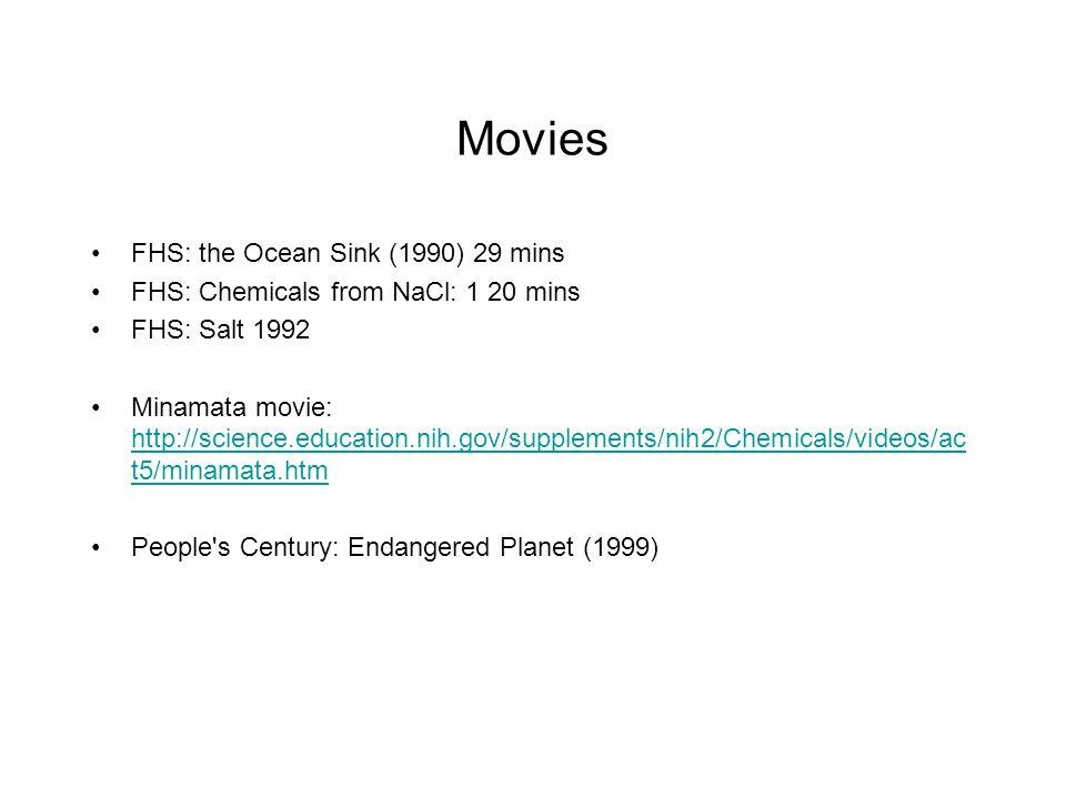 Movies FHS: the Ocean Sink (1990) 29 mins