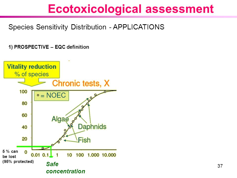 Ecotoxicological assessment
