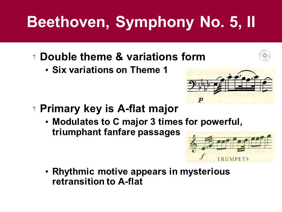 Beethoven, Symphony No. 5, II