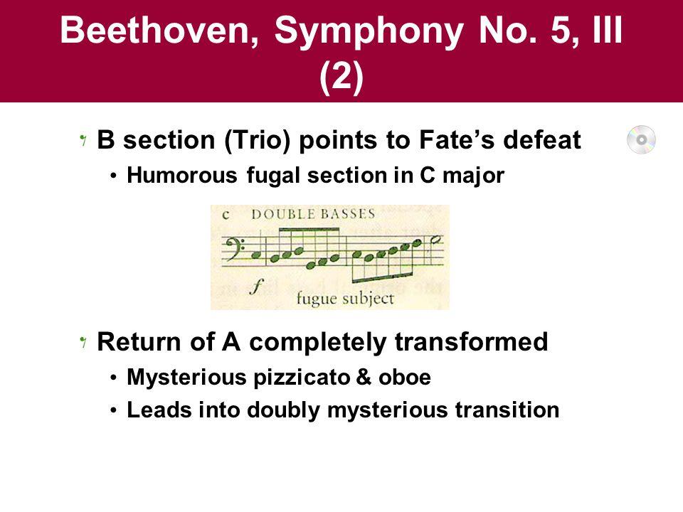 Beethoven, Symphony No. 5, III (2)