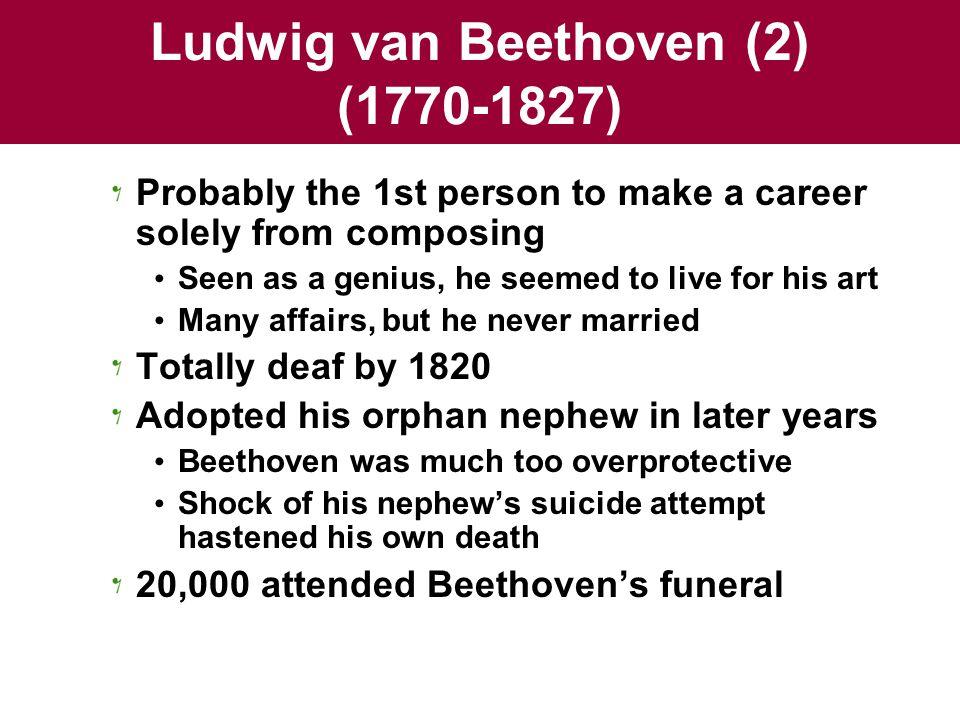 Ludwig van Beethoven (2) (1770-1827)